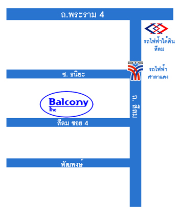 Balcony Map Thai
